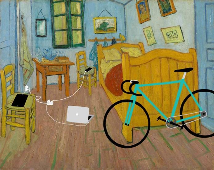 Το υπνοδωμάτιο, Vincent van Gogh, 1888