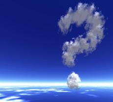 Σύννεφο - Ερωτηματικό