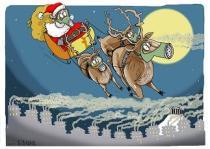 Ανασκόπηση Δεκεμβρίου 2013 μέσω γελοιογραφιών