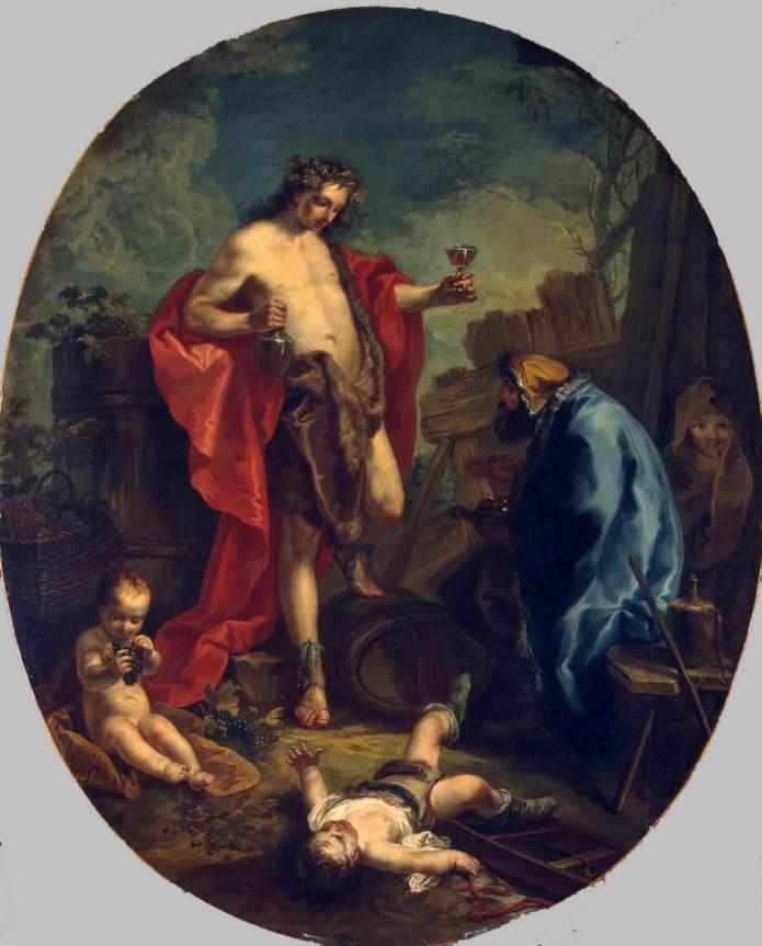 Anton KERN,  Φθινόπωρο και Χειμώνας 1747