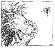 Το λιοντάρι, ο Προμηθέας κι ο ελέφαντας