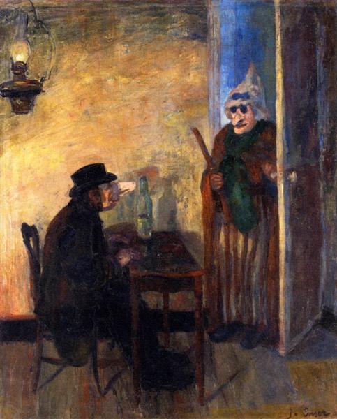 Οι σκανδαλιάρηδες - James Ensor - 1883