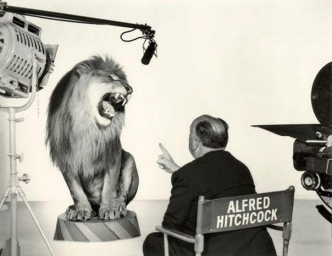 Ο Alfred Hitchcock  και το λιοντάρι της MGM