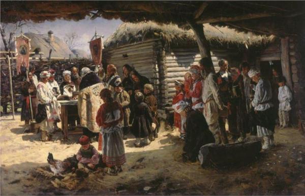 Ανάσταση Vladimir Makovsky 1887