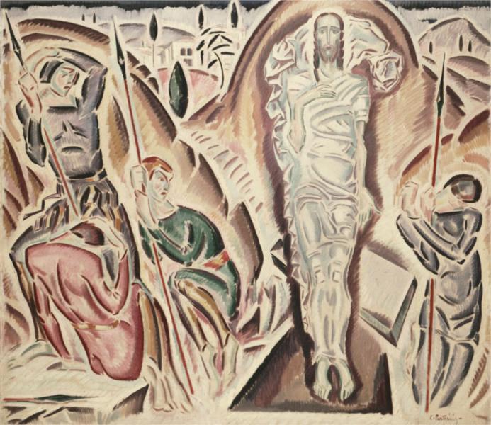 Η Ανάσταση - Κωνσταντίνος Παρθένης