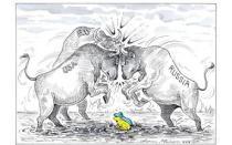 Ανασκόπηση Μαρτίου 2014 μέσω γελοιογραφιών