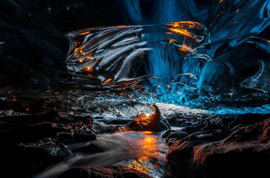 Σπήλαιο Vatnajokull, Ισλανδία