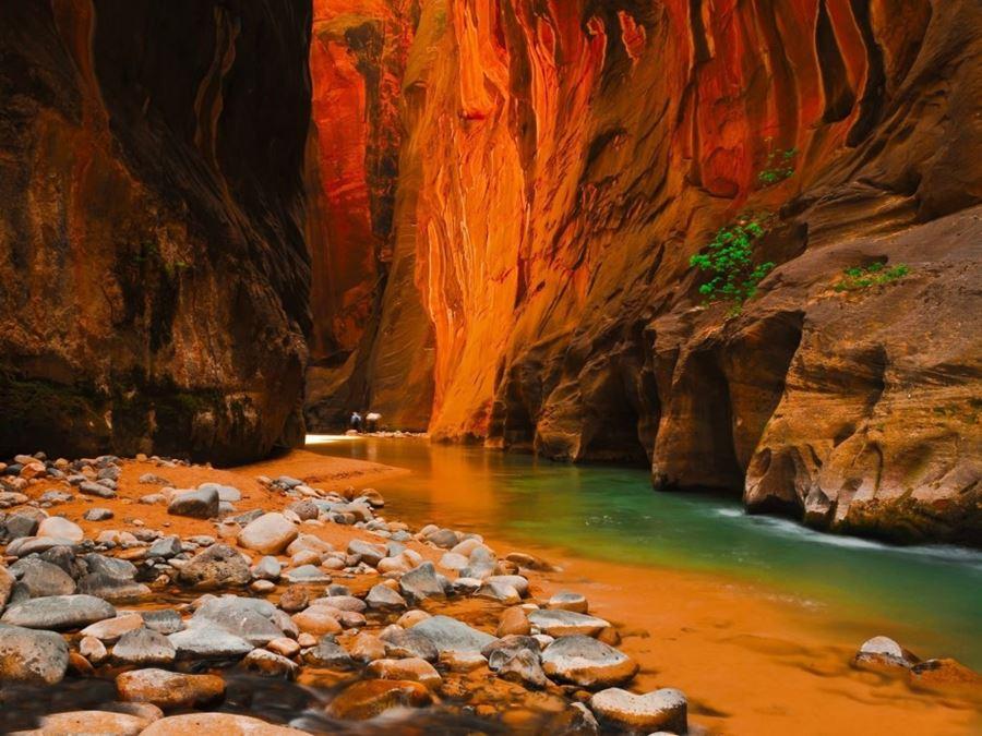 Zion Canyon, Utah, ΗΠΑ