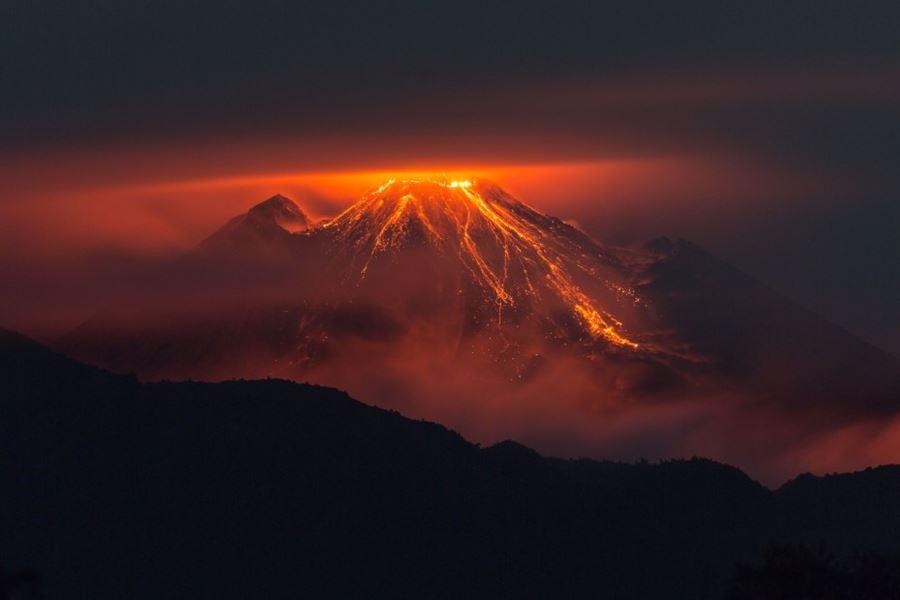 Ηφαίστειο Reventador, Ισημερινός