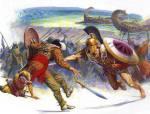 Ψηφιακή αναπαράσταση της μάχης του Μαραθώνα