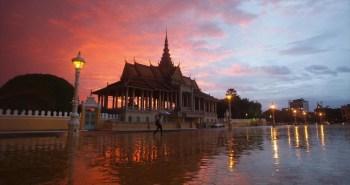 Το Βασιλικό Παλάτι στην Πνομ Πενχ.