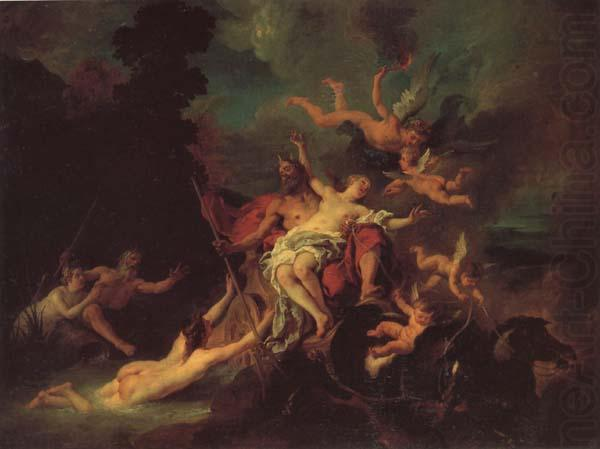 H αρπαγή της Περσεφόνης Jean Francois De Troy 1735