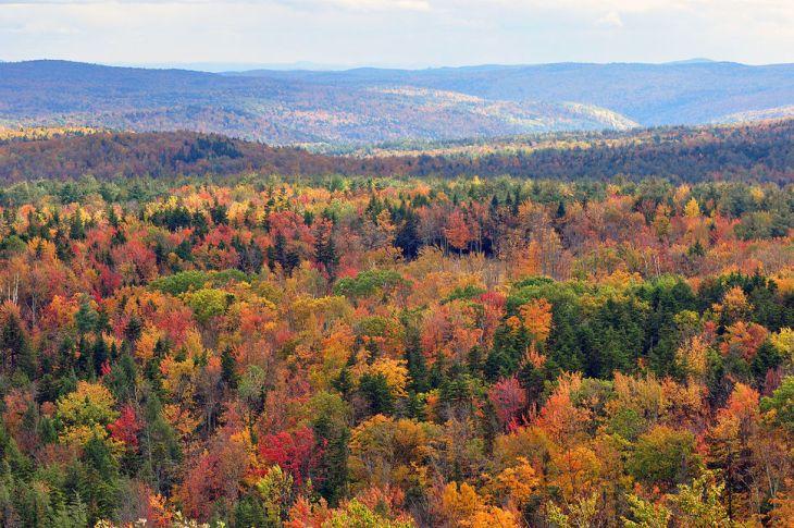 Vermont το φθινόπωρο