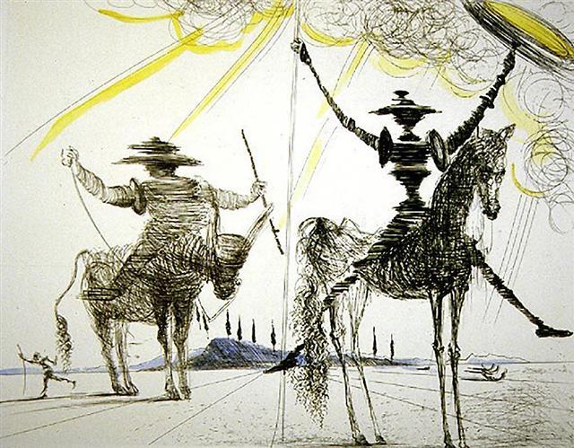 O Δον Κιχώτης του Salvador Dali