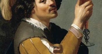 νεαρός πίνει ένα ποτήρι κρασί - Jan van Bijlert - 1640