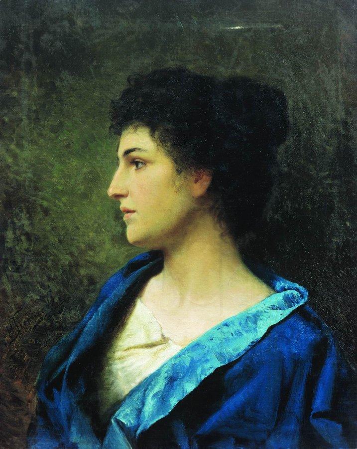 Κυρία από την Ελλάδα - Hendryk Siemiradzki - 1877