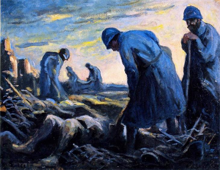 Σκηνή Πολέμου - Maximilien Luce - 1914-1918