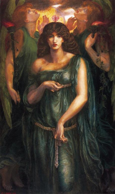 Αστάρτη των Συρίων - Ντάντε Γκάμπριελ Ροσέτι - 1877