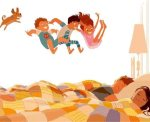 Τρυφερές οικογενειακές στιγμές μέσα από υπέροχα σκίτσα