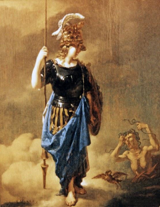 Αθηνά επισκέπτεται τον φθόνο - Karel Dujardin 1626-1678.
