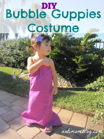 DIY Bubble Guppies Costume