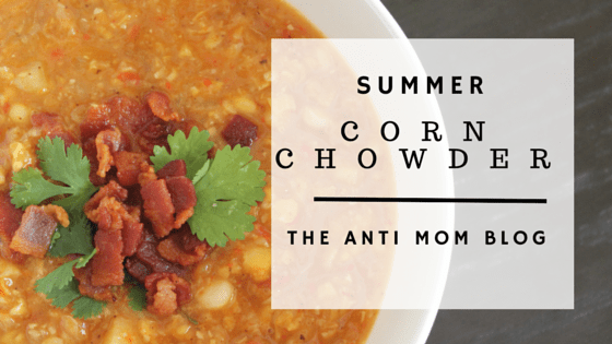 Creamless Summer Corn Chowder