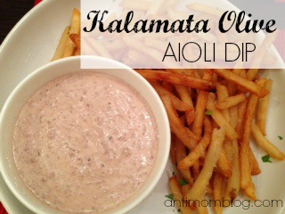 Kalamata Olive Aioli Dip with Herb Fries (Just like Nordstrom's!)