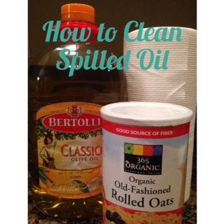 How To Clean Spilled Oil in 3 Easy Steps!