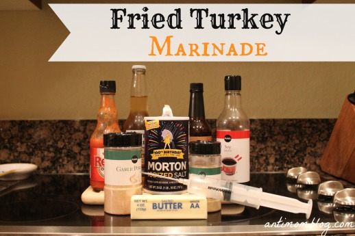 Fried Turkey Marinade