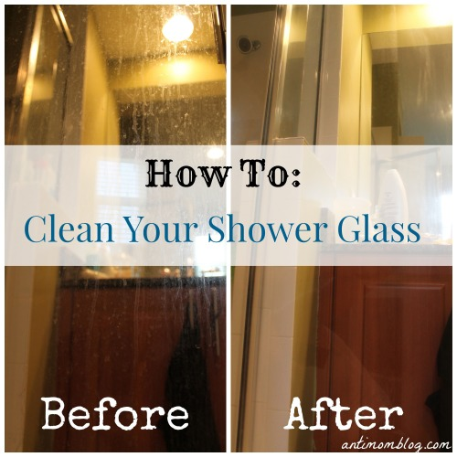 How To Clean Your Shower Glass