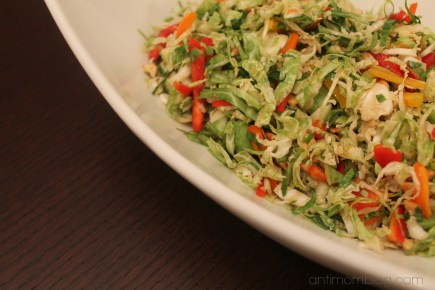 Brussel Sprout Salad The Anti Mom Blog