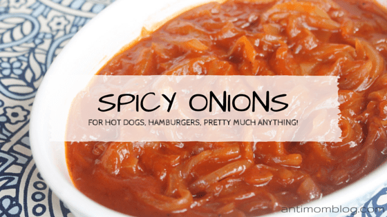Spicy Onions Perfect for BBQs!