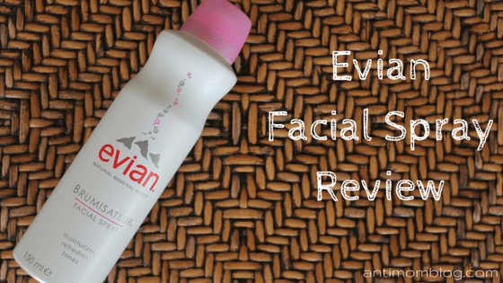 Evian Facial Spray ~ My New Workout Buddy