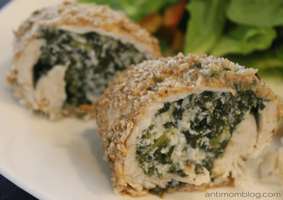Stuffed Turkey Cutlets - The Anti Mom Blog