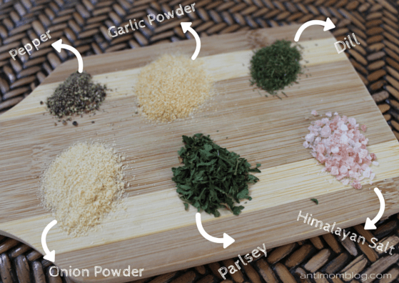 Homemade Ranch Seasoning | The Anti Mom Blog
