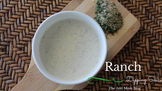 Homemade Ranch Dipping Sauce