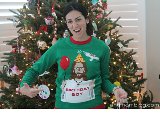 Birthday Boy Ugly Christmas Sweater