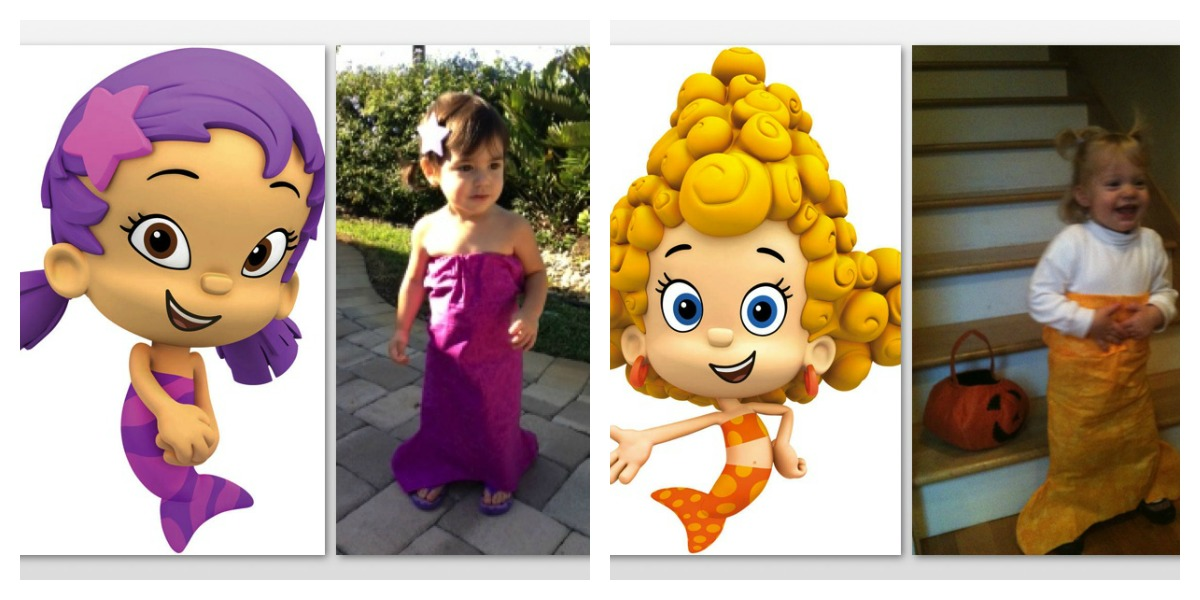 oona ...  sc 1 st  The Anti Mom Blog & DIY Bubble Guppies Costume - The Anti Mom Blog
