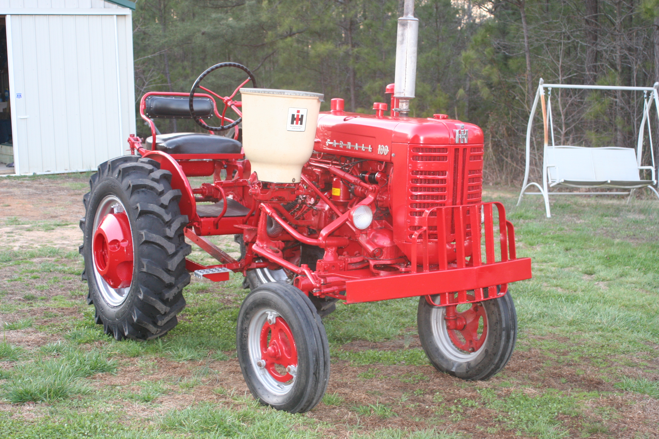 Farm All Tractor : Tractor story farmall distillate antique