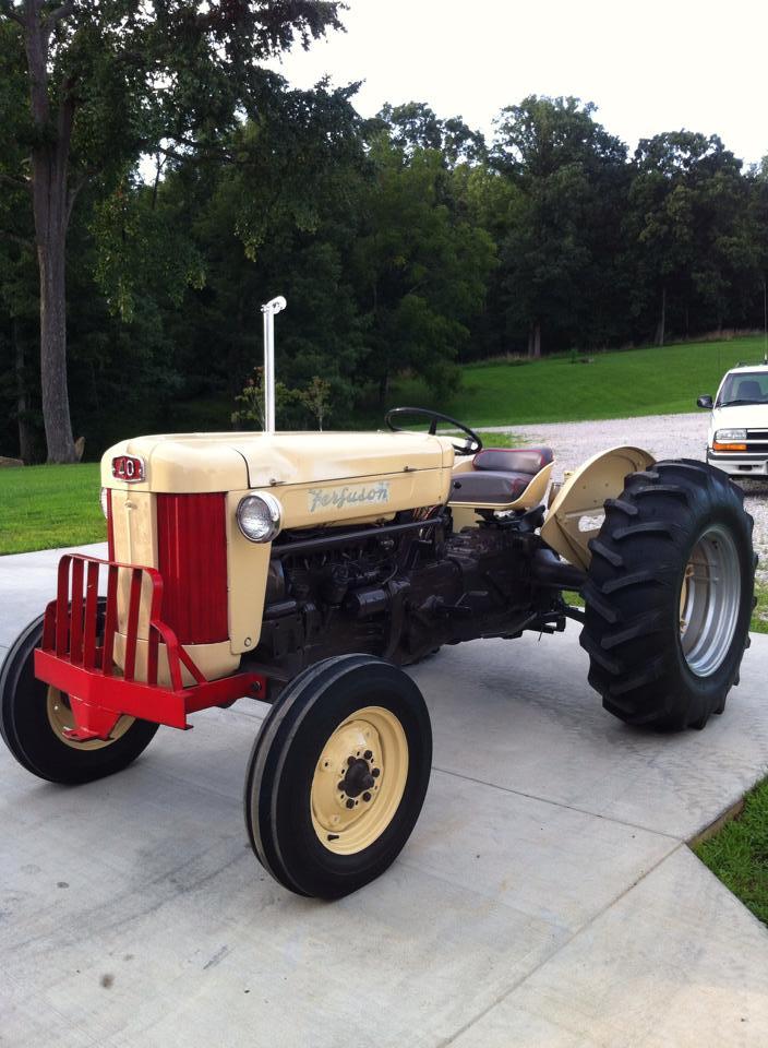 Ferguson 40 Tractor : Ferguson antique tractor