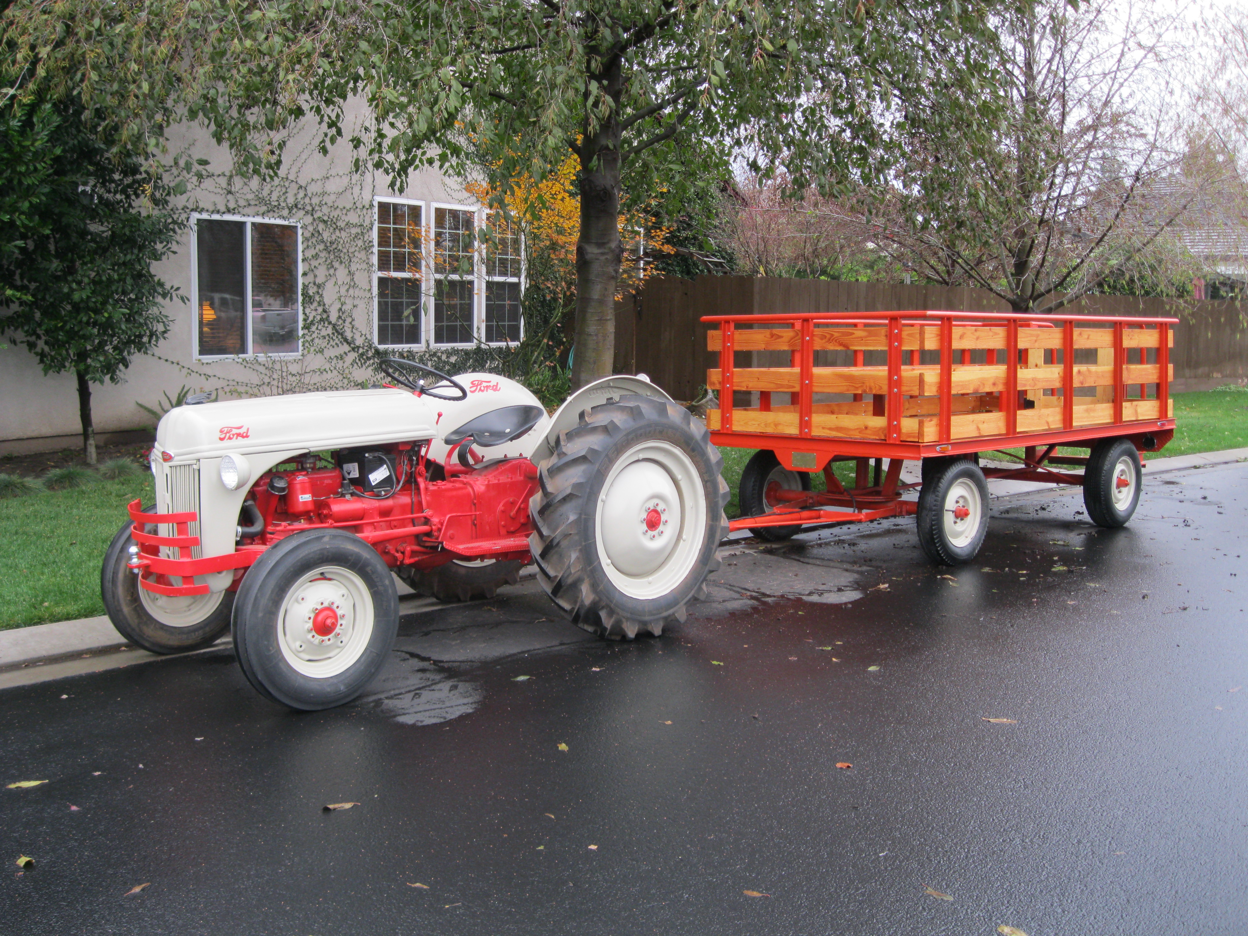 Ford 8n Tractor Attachments : Restoring a ford n tractor autos we post