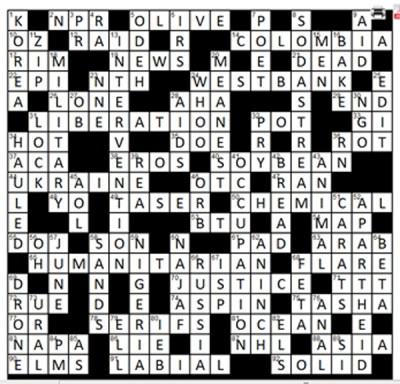 CrosswordKey2014
