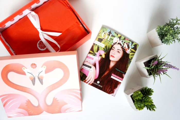 glossybox exotique 01