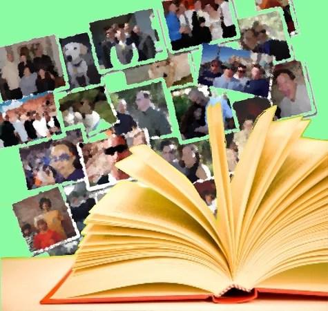 Os capítulos do livro da vida.