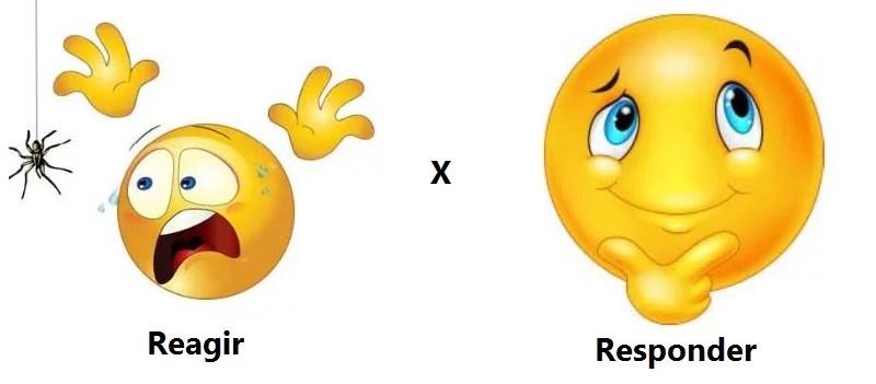 reagir-vs-responder