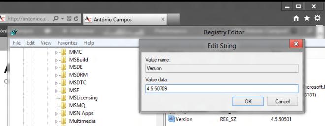 RegistryWindows8VersaoNet
