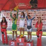 podium sprint femenino jueves 26