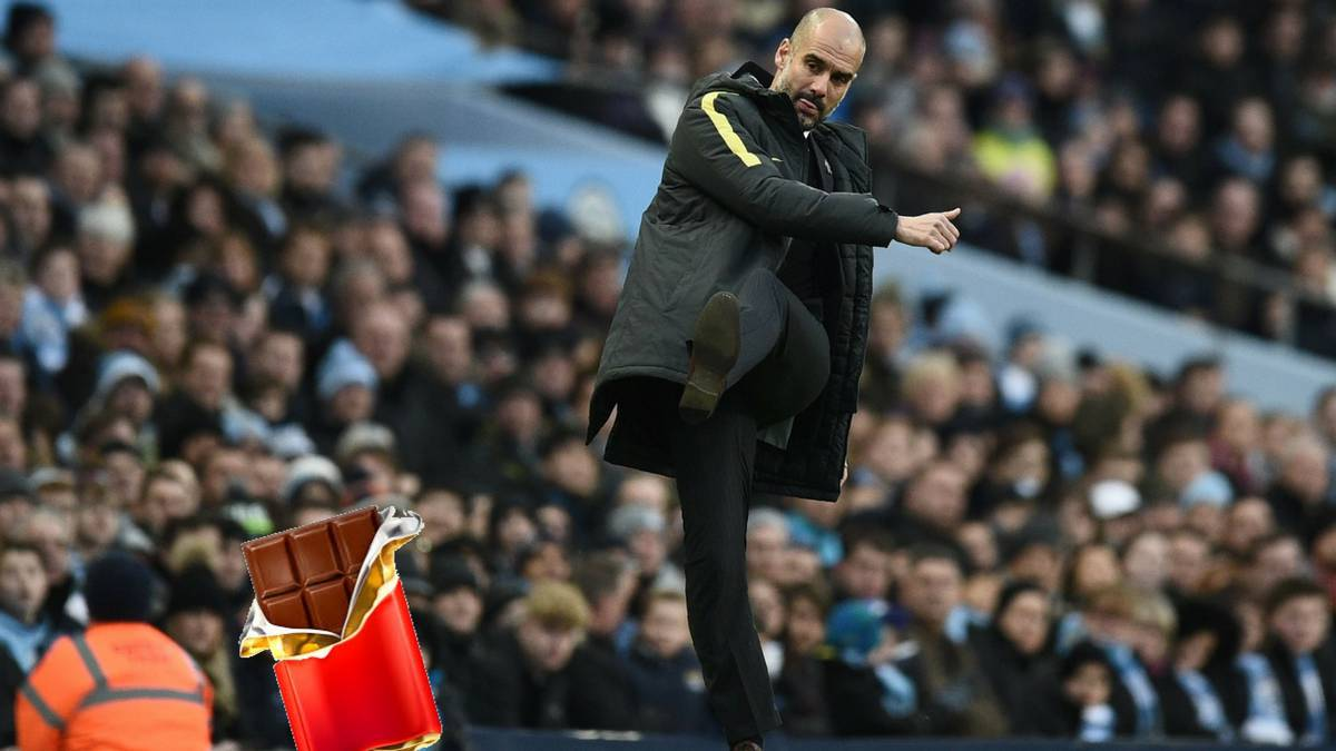 Guardiola prohíbe vender chocolate en el Etihad Stadium