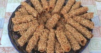 وصفات حلويات سهلة لهذا العيد : حلوة القصيبات