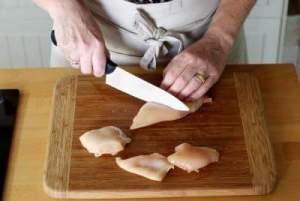 صدور الدجاج مقلية